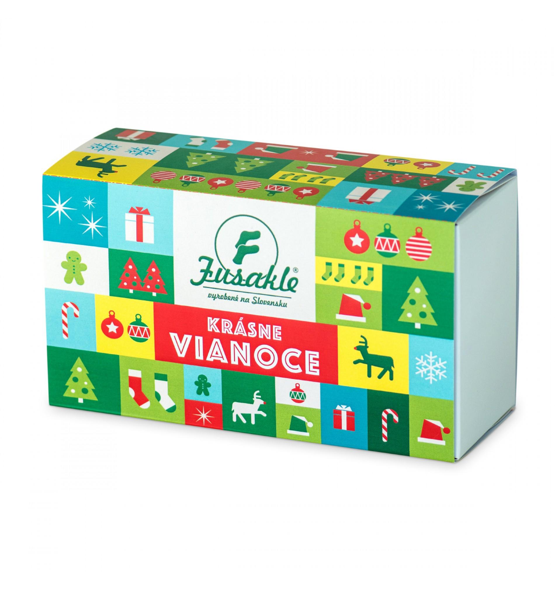 FUSAKLE Darčeková Krabička 'Vianoce'