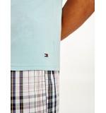 pánske trička - 3PACK 'STRETCH CN' biela, čierna, modrá  0XJ