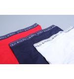 Polo boxerky - 3PACK biela,modrá,červená  009  '714513424-009'