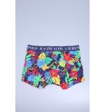Polo boxerky '714637437-008' farebné kvietky  008