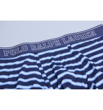Polo boxerky '714684606-004' modré s pásikmi  004