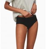 nohavičky boxerkové bezšvové - HIPSTER 'INVISIBLES' čierne  001