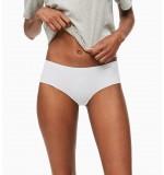 nohavičky boxerkové bezšvové - HIPSTER 'INVISIBLES' biele  100
