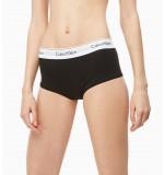 nohavičky boxerkové - HIPSTER 'MODERN COTTON' čierne 001