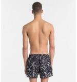 pánske plavky - SHORT 'CORE SOLIDS' čierne  017