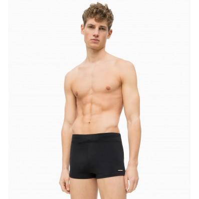 pánske plavky - BOXERKY 'CORE SOLIDS' čierne  001