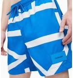 pánske plavky 'CORE ABSTRACT' modré  453