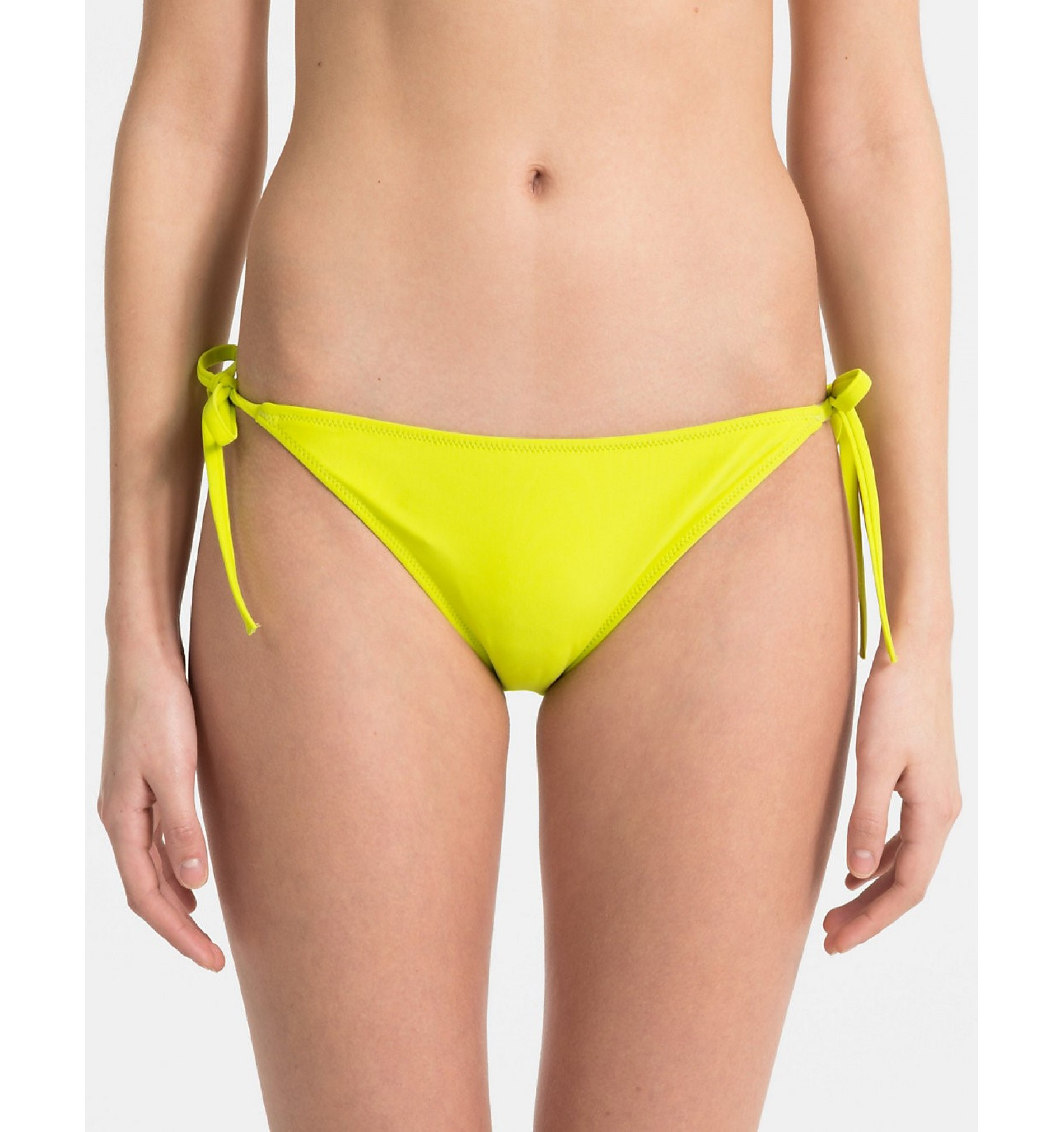 dámske plavky - BIKINI 'CK NYC' žlté neónové  311