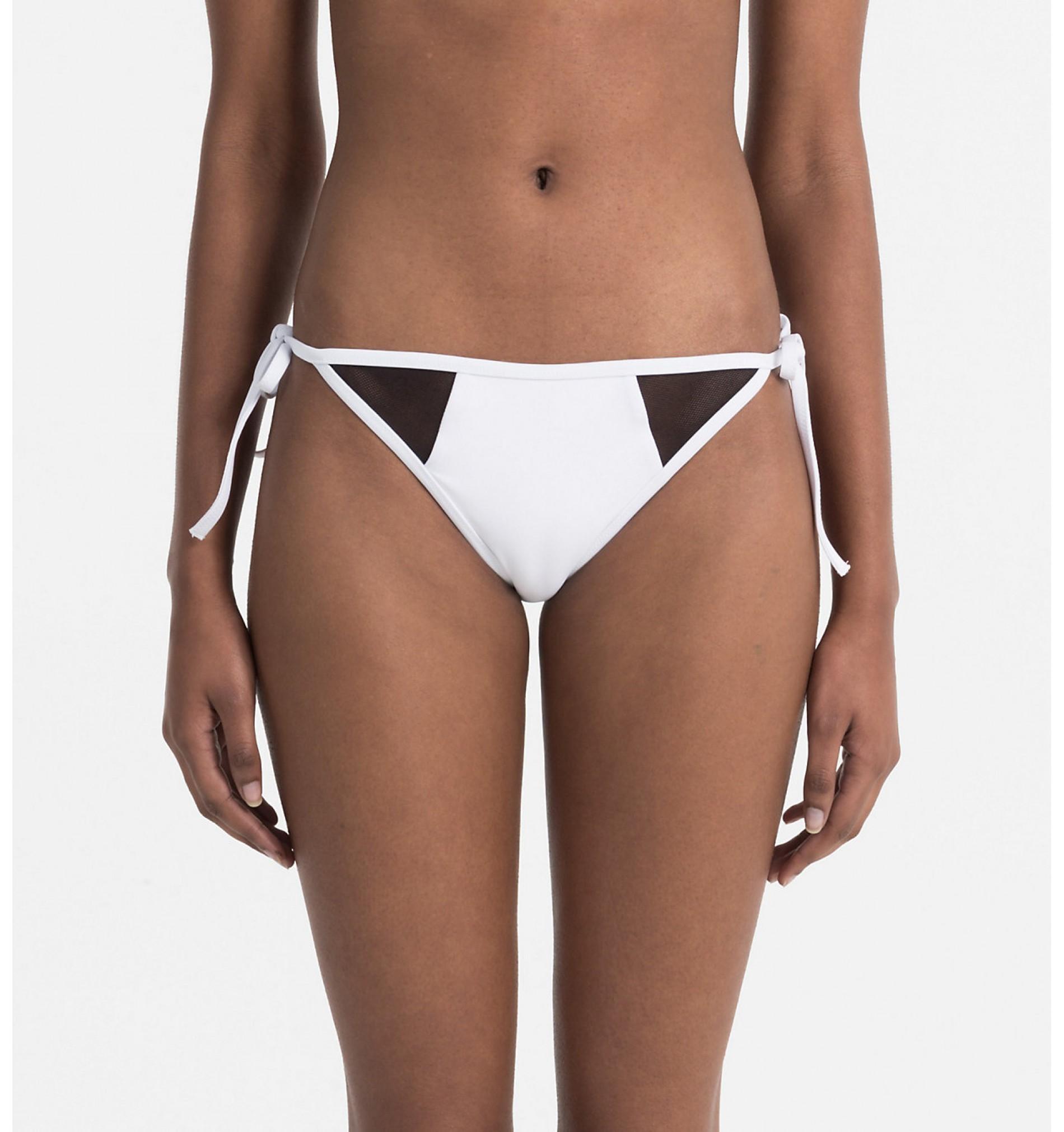 dámske plavky - BIKINI 'INTENSE POWER' biele  100