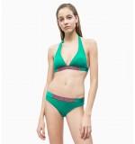 dámske plavky - PODPRSENKA PLUNGE 'CORE ICON' zelená  307