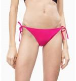 dámske plavky - BIKINI STRING 'INTENSE POWER' neónovo ružové  507