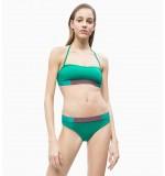 dámske plavky - BIKINI 'CORE ICON' zelené  307