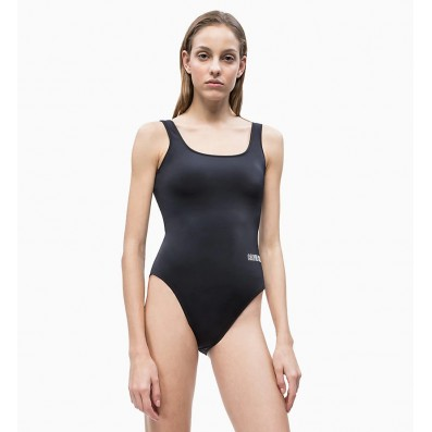dámske plavky - JEDNODIELNE 'INTENSE POWER' čierne  094