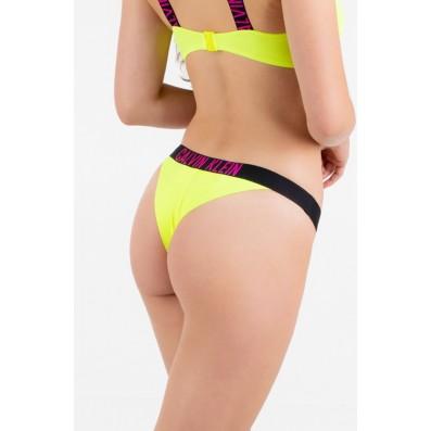dámske plavky - BRAZILKY 'INTENSE POWER' neónovo žlté  ZAA