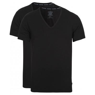 pánske tričká s Véčkom - 2PACK 'MODERN COTTON' čierne  001