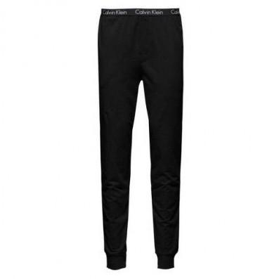pánske nohavice - JOGGER 'CK SLEEP COTTON' čierne  001