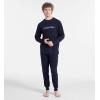 Calvin Klein - pánske pyžamo 'HOLIDAY' modré  7QY