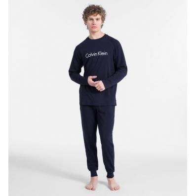 - pánske pyžamo 'HOLIDAY' modré  7QY