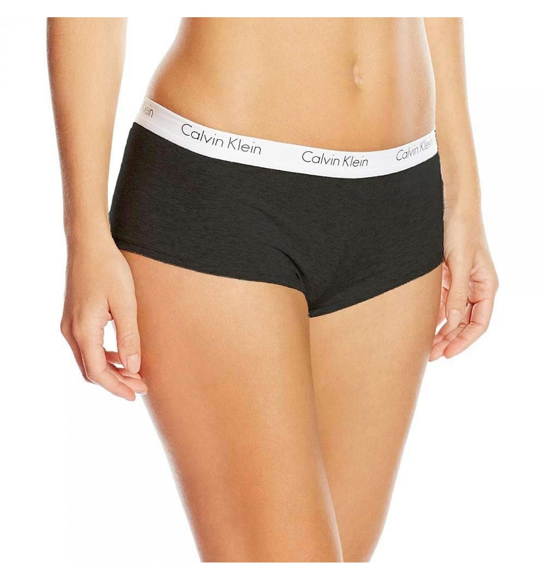 nohavičky boxerkové - HIPSTER 'CK ONE COTTON' čierne 001