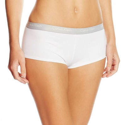 nohavičky boxerkové - HIPSTER 'CK ONE COTTON' biele 100