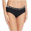 Calvin Klein nohavičky boxerkové - HIPSTER 'SEAMLESS LOGO' čierne  001