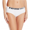 Calvin Klein nohavičky boxerkové - HIPSTER 'SEAMLESS LOGO' biele  100
