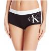 Calvin Klein nohavičky boxerkové - HIPSTER 'RETRO' čierne 001