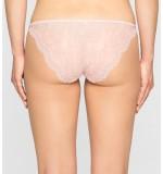 nohavičky - BIKINI STRING 'SHEER MARQUISETTE' ružové  NZY