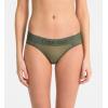 Calvin Klein nohavičky - BIKINI 'TONAL LOGO' olivové  TBY