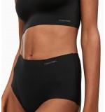 nohavičky boxerkové bezšvové - HIPSTER HIGH WAIST 'INVISIBLES' čierne  001