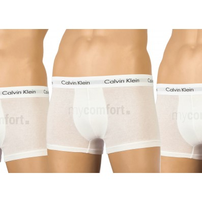 boxerky - 3PACK 'COTTON STRETCH' biele  100