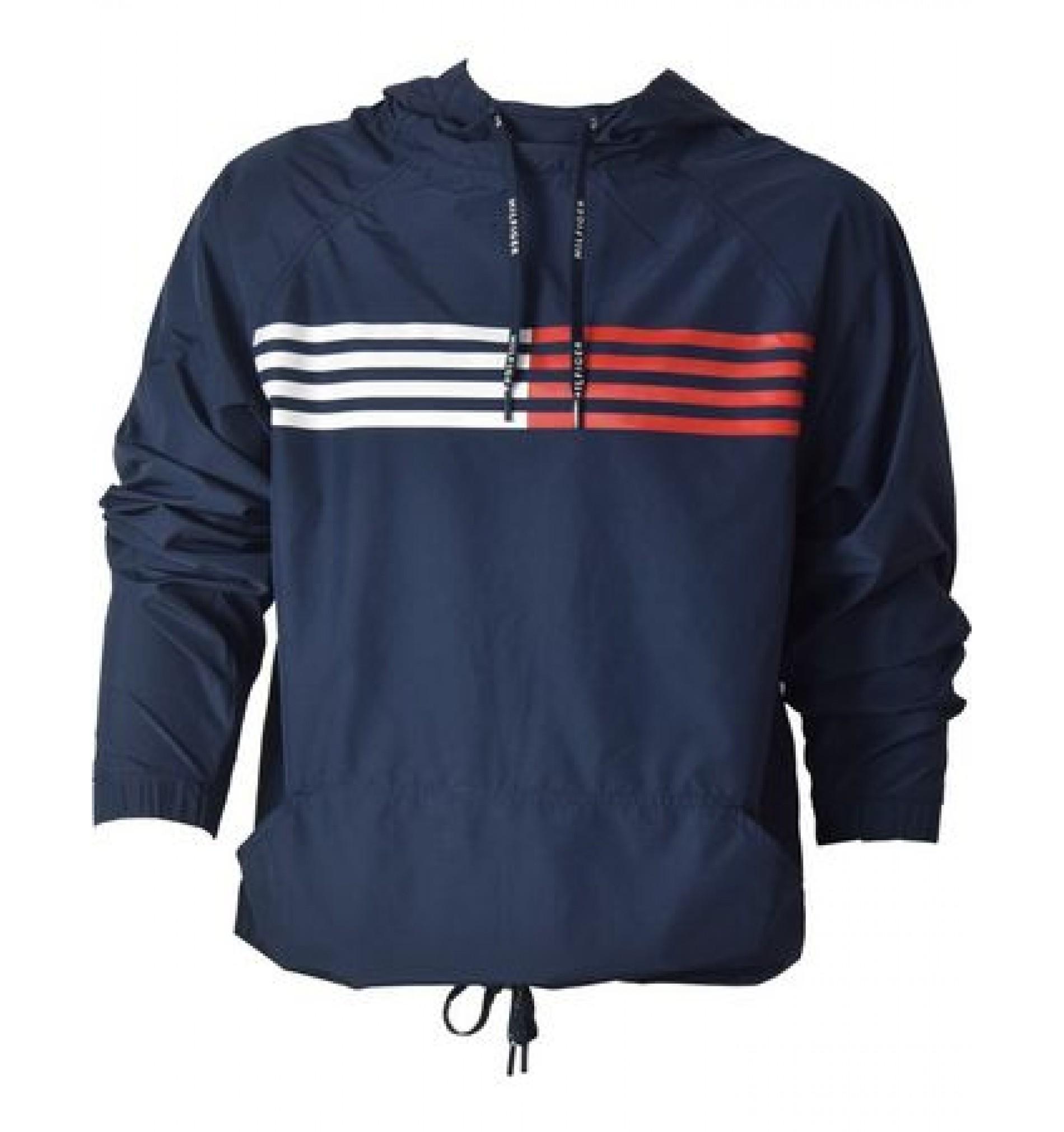 - pánska bunda 'CORE FLAG STRIPE' modrá  416