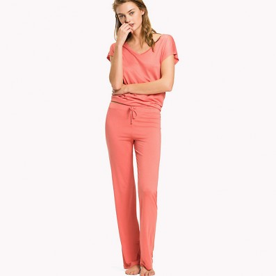 - dámske pyžamové nohavice 'MODAL TROUSERS' lososové  664