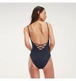 dámske plavky - JEDNODIELNE 'CORE SOLIDS' modré  416