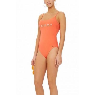 dámske plavky - JEDNODIELNE 'CORE SOLIDS' oranžové  616