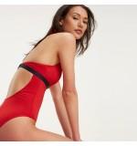 dámske plavky - JEDNODIELNE 'CORE SOLID' červené  611