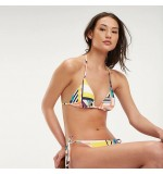 dámske plavky - PODPRSENKA 'GEOMETRIC PARTY' letné farby  144