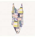 dámske plavky - JEDNODIELNE 'GEOMETRIC PARTY' letné farby  144