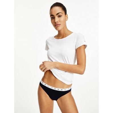 bikini - 3PACK 'ORGANIC COTTON' čierna,ružová,kvietky  0VU